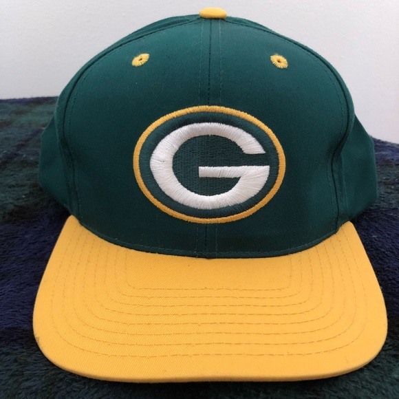"Green Bay Packers SnapBack- ""vintage"". M 5acb64c6a44dbef2c9aa6e96 7f036f4e6"